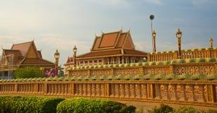 Centro buddista Oudong fotografia stock