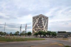 Centro CÃvico del Bicentenario Tvåhundraårsdag medborgarcentrum, Cordoba landskapregering - Cordoba, Argentina arkivbild