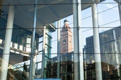 Centro cardinal da compra e de negócio, Londres, Reino Unido foto de stock