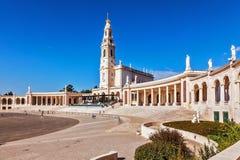 Centro católico da peregrinação de Portugal Imagens de Stock Royalty Free