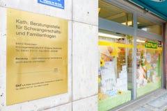 Centro católico Rosenheim del consejo Imágenes de archivo libres de regalías