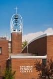 Centro cattolico croato a Toronto Immagini Stock Libere da Diritti