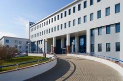 Centro científico y práctico republicano de la medicina de la radiación Fotos de archivo