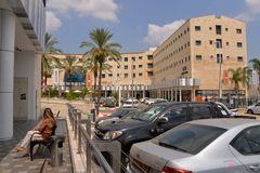 Centro città di Sderot, Israele, #8 Immagine Stock