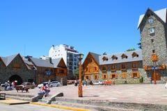 Centro cittadino - Bariloche - Argentina Immagini Stock