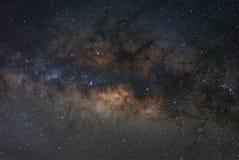 Centro claramente galáctico de la vía láctea imágenes de archivo libres de regalías