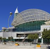 Centro Comercial瓦斯科・达伽马购物中心在Parque das Nacoes 库存照片