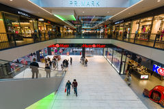 """Centro comercial """"centro Galerie"""" en la ciudad vieja Fotos de archivo"""