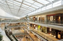 Centro comercial Foto de Stock Royalty Free