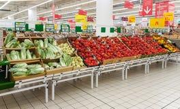 Centro comercial Auchan Imagen de archivo libre de regalías