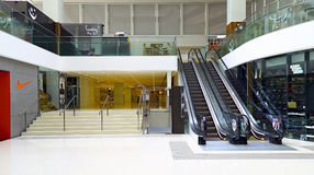 Centro comercial da cidade do porto, Hong Kong Imagem de Stock Royalty Free