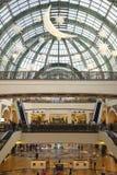 Centro comercial de Dubai Foto de Stock Royalty Free