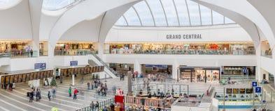Centro comercial de Grand Central y nueva estación del St de Birmingham Fotos de archivo