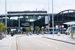 Centro comercial de la plaza de Schiphol en el aeropuerto de Amsterdam Fotografía de archivo