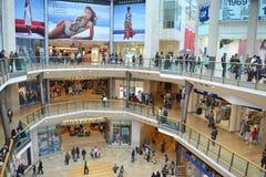 Centro comercial de la plaza de toros Imágenes de archivo libres de regalías