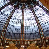 Centro comercial de Lafayette, Paris, France. Fotografia de Stock