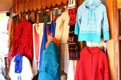 Centro comercial de los artesans tradicionales de Chile Imágenes de archivo libres de regalías