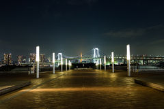 Centro comercial de Odaiba Imagenes de archivo