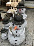 Centro comercial del europeo en los días de fiesta de la Navidad Fotografía de archivo