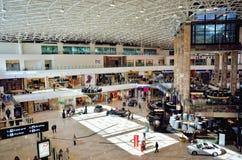Centro comercial del lujo de la alameda de Palas Imagen de archivo libre de regalías
