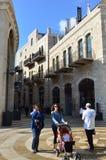 Centro comercial del Mamilla en Jerusalén foto de archivo