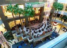 Centro comercial en Chile Centro de la alameda foto de archivo