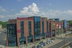 Centro comercial en el Wroclaw Imagen de archivo libre de regalías