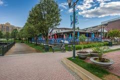 Centro comercial en la vecindad Imagenes de archivo