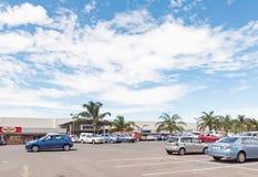 Centro comercial en Ladysmith en Kwazulu Natal Fotos de archivo