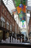Centro comercial en Leeds Foto de archivo