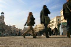 Centro comercial en Madrid imagen de archivo libre de regalías