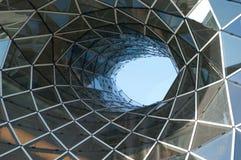Centro comercial futurista Fotografía de archivo
