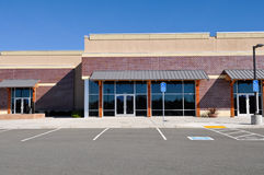 Centro comercial novo Imagens de Stock Royalty Free