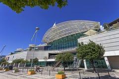 Centro Comercial Vasco Da Gama centrum handlowe w Parque das Nacoes Obraz Stock