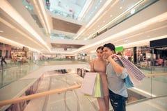 In centro commerciale fotografia stock