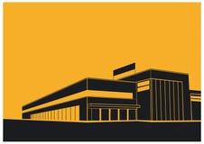 Centro commerciale illustrazione di stock