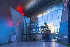 Centro commerciale dei cristalli di Las Vegas Immagine Stock