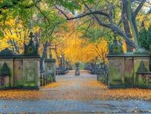 Centro commerciale del Central Park in autunno fotografie stock
