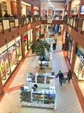Centro commerciale del centro commerciale dell'atrio di Koszalin Polonia Immagine Stock Libera da Diritti