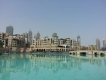 Centro commerciale del Dubai Fotografia Stock Libera da Diritti