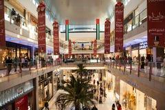 Centro commerciale del Dubai Fotografie Stock