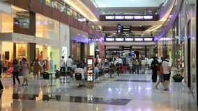 Centro commerciale del Dubai archivi video