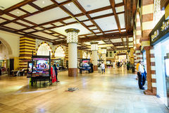 Centro commerciale del Dubai, Dubai, UAE Fotografie Stock