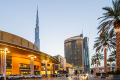 Centro commerciale del Dubai, Dubai, UAE Immagini Stock Libere da Diritti