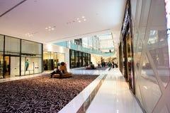Centro commerciale del Dubai, Dubai, UAE Fotografia Stock Libera da Diritti