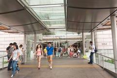 Centro commerciale del ifc di Hong Kong fotografia stock libera da diritti