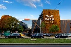Centro commerciale del lago park Fotografia Stock