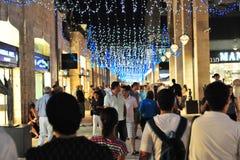 Centro commerciale del Mamilla a Gerusalemme Israele Fotografia Stock