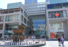Centro commerciale del PADIGLIONE Kuala Lumpur Fotografie Stock