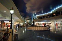 Centro commerciale del porticciolo Fotografia Stock Libera da Diritti